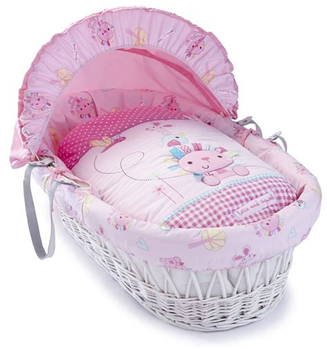 Moses Basket Bedding Sets Uk Lottie And Squeek Moses Basket Dressings Bedding Set