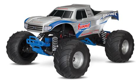 bigfoot summit monster traxxas bigfoot 174 summit racing monster trucks 36084 1