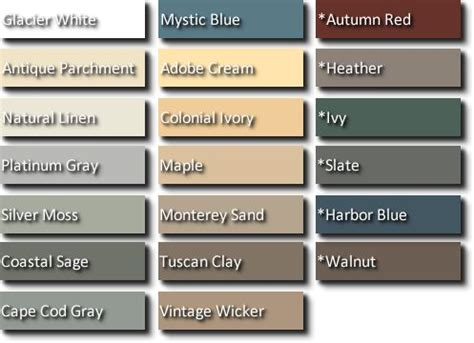 colors of vinyl siding vinyl siding colors why can t i find warm colors that