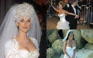 top 10 worst celebrity wedding dresses ever