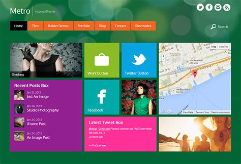 template themes metro windows 8 metro theme