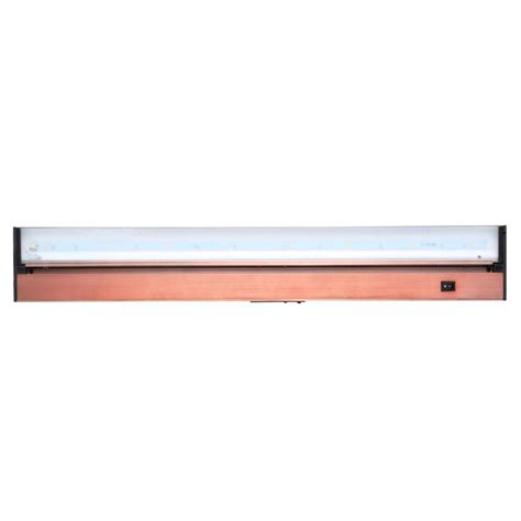 Juno Pro Series 30 In Brushed Bronze Led Under Cabinet Juno Cabinet Lighting Led
