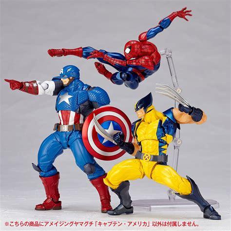 Figure Iron Captain America revoltech captain america figure the awesomer