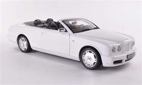 bentley azure white bentley azure white lhd 2006 minichs diecast model car