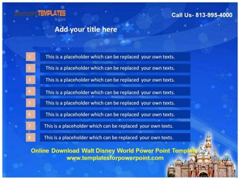 powerpoint templates free download disney download walt disney world powerpoint template