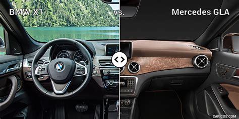 Bmw Vs Mercedes Interior by Bmw X1 Vs Mercedes Gla