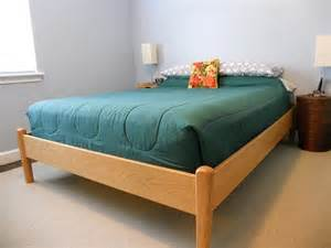 Simple Wood Bed Frame Simple Wood Bed Frame Designs For Be Sound Sleep Home