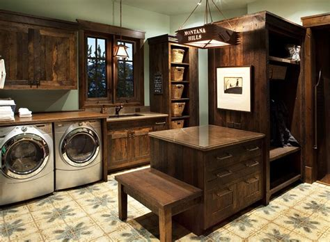 Rustic Laundry Room For Cabin Home Dreams Ideas And Rustic Laundry