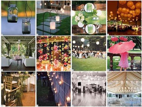 Backyard Wedding If It Rains 12 Id 233 Es De D 233 Coration De Salle De Mariage 192 Voir