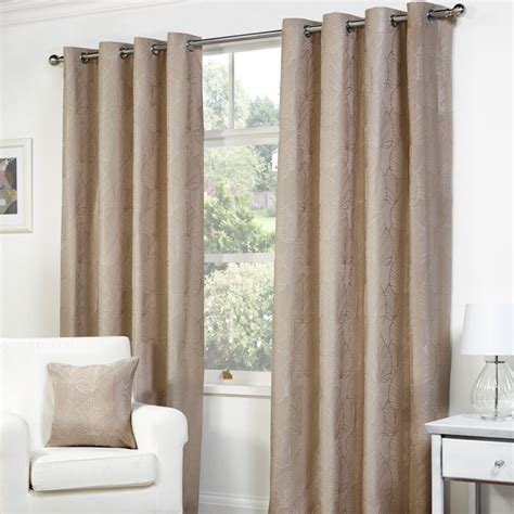 curtains 72 width fusion palma curtains 45 quot width x 72 quot drop mink buy