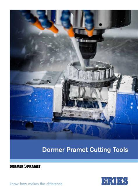 Dormer Cutting Tools Dormer Pramet Cutting Tools From Eriks