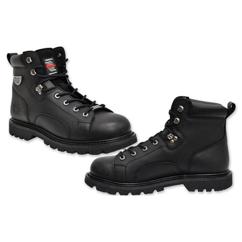 milwaukee boots milwaukee motorcycle clothing co s nightrider black