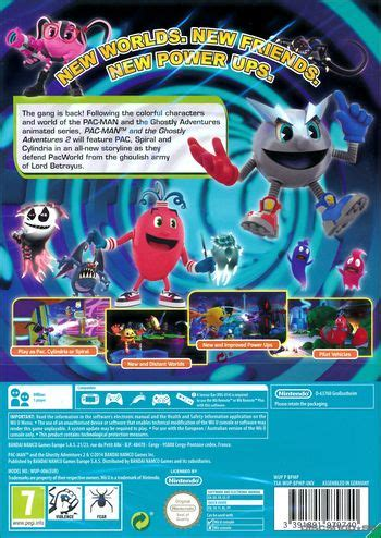 3ds Pac And The Ghostly Adventures pac and the ghostly adventures 2 nintendo wii u