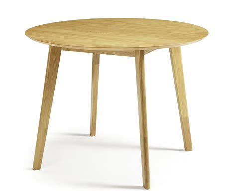 Dalebury Round Oak Dining Table Oak Dining Tables