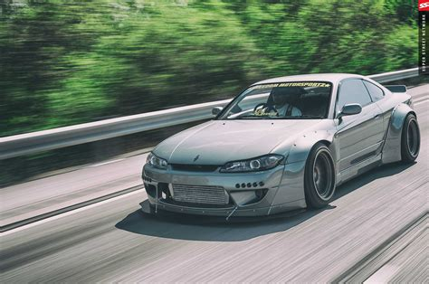 modified nissan silvia s15 freedom motorsportz builds a rocket bunny nissan silvia s15