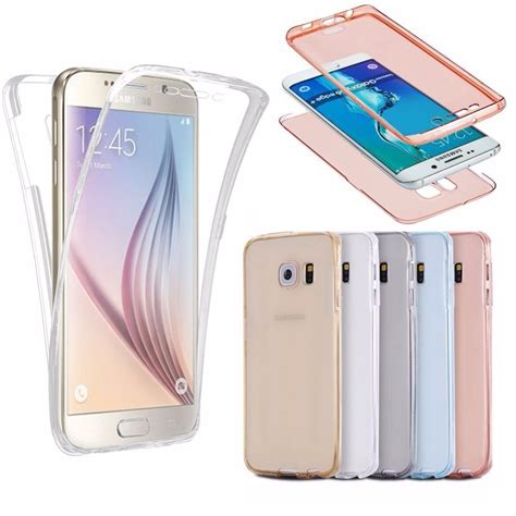 New Casing Soft Tpu Front And Back Cover Samsung Galaxy S8 Fre front back cover gel series shockproof tpu 360 degree