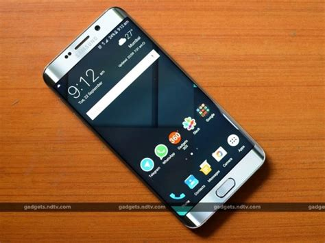ndtv mobile compare samsung galaxy s6 edge review tweaking the winning