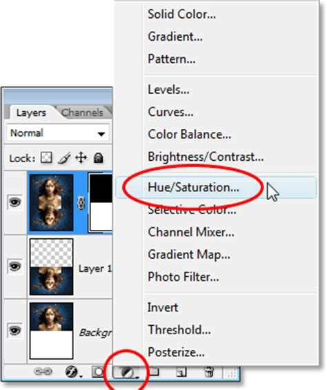 adobe photoshop hue saturation tutorial tenere premuto il tasto quot alt quot win quot option quot mac fare