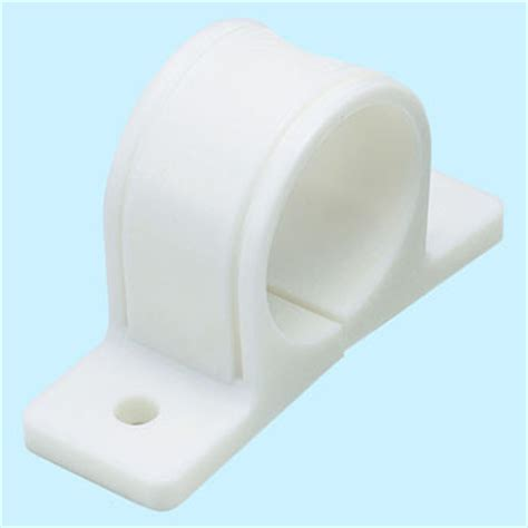 1 inch pipe floor support saddle tgs 20gp resin saddle band gas pipe trusco monotaro