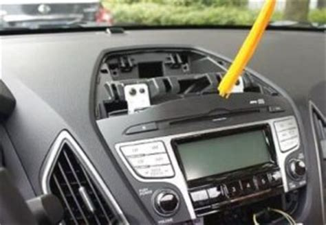 hyundai tucson radio removal how to install hyundai tucson ix35 radio dvd gps