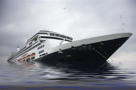 boat prices going up cruise liner sinking in sea stock photo image of going