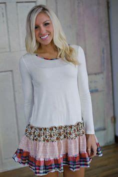 Sale Refa Tunic country home sheath dress refashion how to add