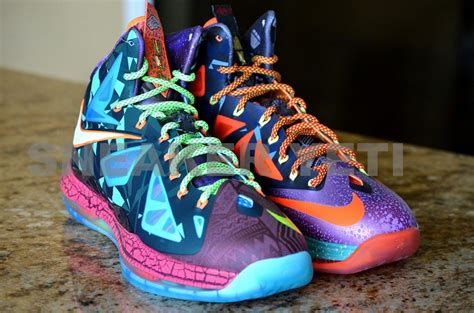 what the gallery nike lebron x quot what the mvp quot limited edition nike lebron lebron shoes