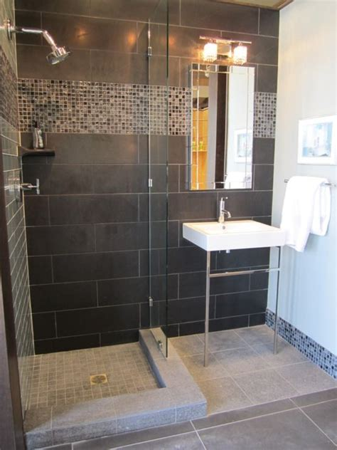 Gray Tile Bathroom Ideas 40 Gray Shower Tile Ideas And Pictures