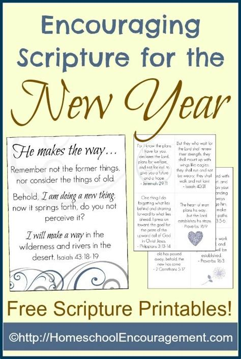 printable cards with scripture encouraging scripture for the new year free printables