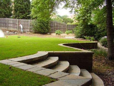 Retaining Wall Ideas For Sloped Backyard Retaining Wall Ideas For Sloped Backyard