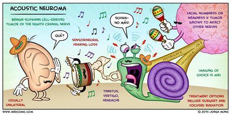 schwannoma vestibular acoustic neuroma vestibular schwannoma medcomic
