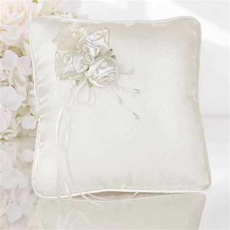 cuscino portafedi fiori cuscino porta fedi avorio con fiori per matrimoni e