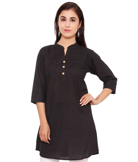 N1 Tenun Blouse Tunic buy indian virasat black cotton tunics at best prices in india snapdeal