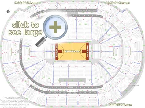 BB&T Center seat & row numbers detailed seating chart