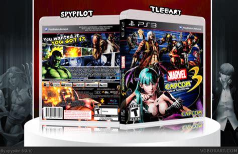 Original Playstation Ps3 Ultimate Marvel Vs Capcom Reg 2 Eu marvel vs capcom 3 fate of two worlds playstation 3 box cover by spypilot