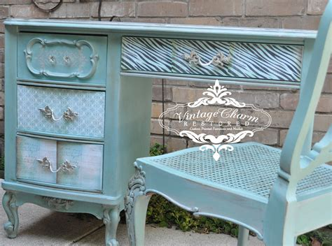 Decoupage Paint - how to decoupage drawer fronts vintage charm restored