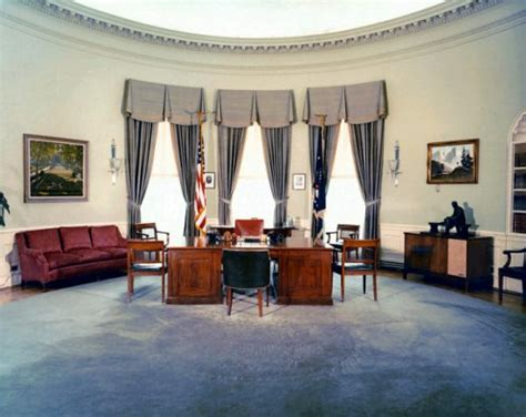 oval office decor by president us presidents office interiors home design