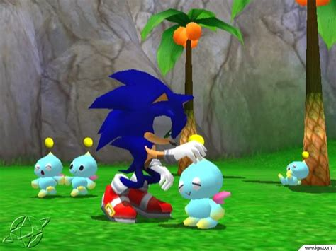 Sonic Chao Garden by Throwbackthursday Chao Garden Sonic Adventure 2 Battle Wtfgamersonly
