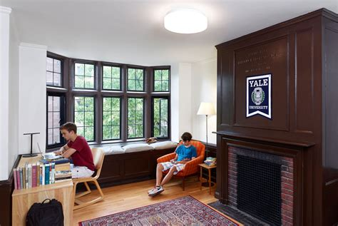 Yale Rooms by Apicella Bunton Architects Lanman Wright Yale