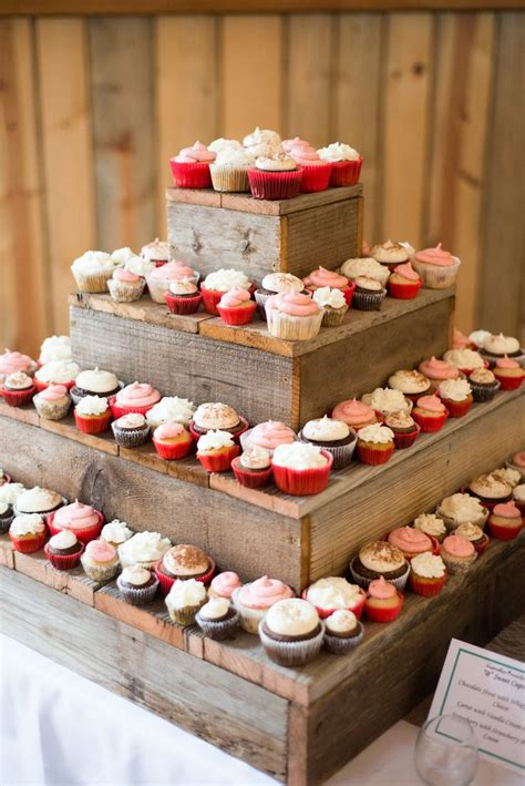 Cupcake Stand diy barn wood cupcake stand dessert table cakes and such