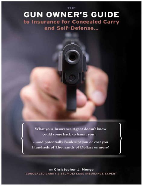 concealed carry bible a complete self defense guide a to z books gun owner insurance experts affordable insurance