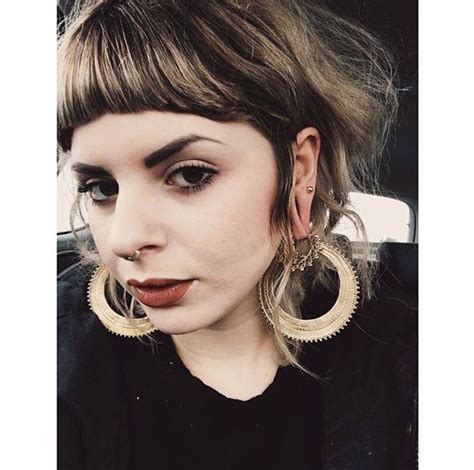 female ear lobes 17 best images about tattoos plugz piercings on pinterest