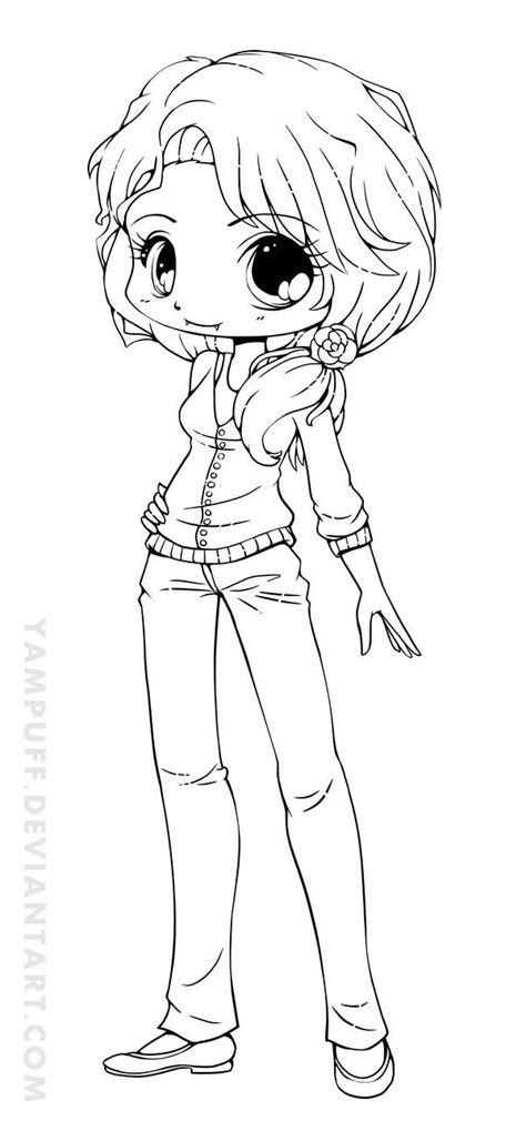 18 Best Images About Coloring Pages On Pinterest Chibi Chibi Coloring Pages