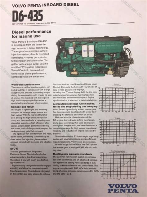 volvo d6 marine engine volvo d6 volvo marine engines reman