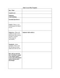 daily lesson plan template doc 28 daily lesson plan template doc sle lesson plan 9