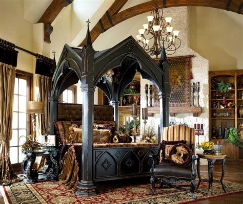 gothic canopy bed bernadette livingston furniture bring home gothic castle