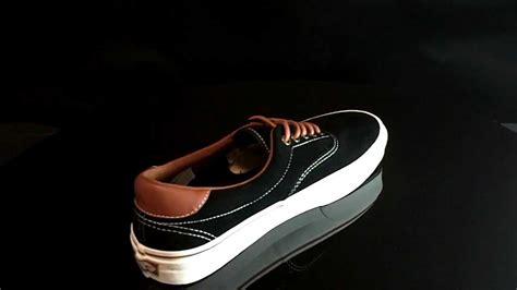 Vans Era Black Brown vans era 59 suede black leather brown vexd6d7