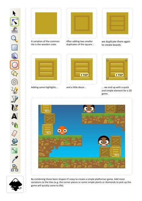 inkscape tutorial pixel art 20 best inkscape images on pinterest 2d game art pixel