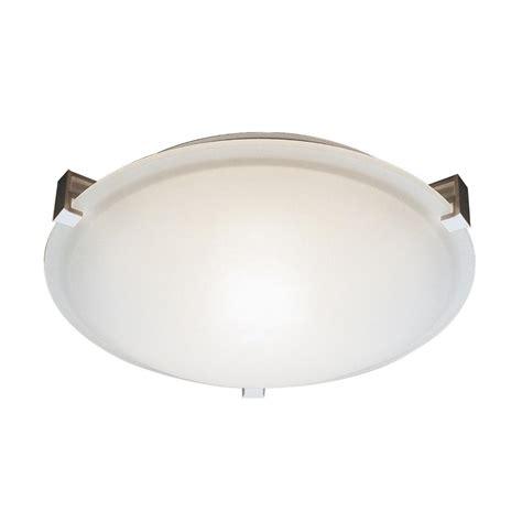 neptune 2 light white flushmount 59006 wh the home depot