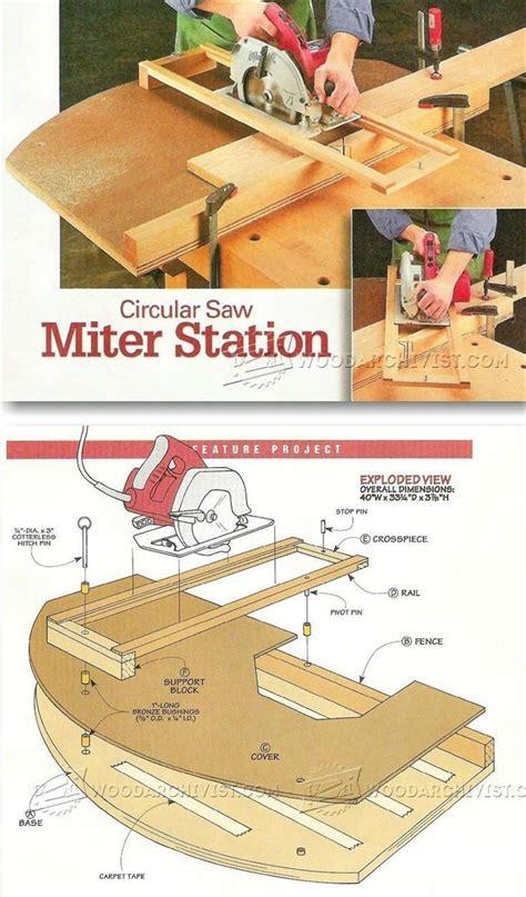 circular  crosscut  miter jig circular  tips